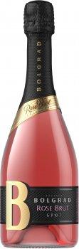 Вино ігристе Bolgrad Rose рожеве брют 0.75 л 10-13.5% (4820013032500)