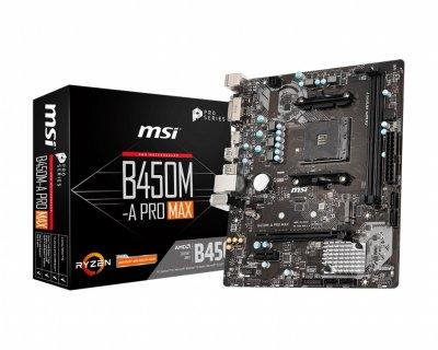 Материнська плата MSI B450M-A Pro Max Socket AM4