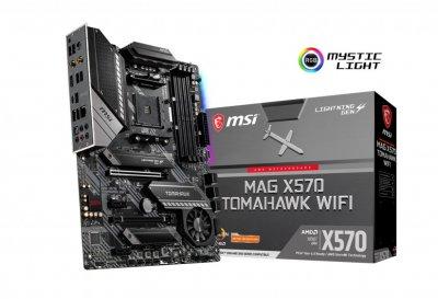 Материнська плата MSI MAG X570 Tomahawk Wi-Fi Socket AM4