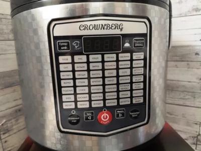 Мультиварка скороварка рисоварка фритюрница Crownberg CB 5523 5 л мультискороварка с фритюрницей