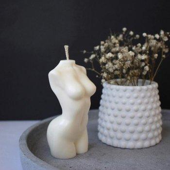"""Свічка """"Жіноче тіло"""" з натурального соєвого воску, 9 см (1604214201)"""