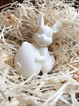"Свічка ""Пасхальний кролик"" з натурального соєвого воску, 8 см (2304214202)"