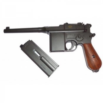 Пневматичний пістолет SAS Mauser M. 712 4,5 мм Blowback (KMB18DHN)