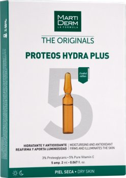 Ампулы Martiderm The Originals Proteos Hydra Plus 5 шт х 2 мл (8437019178925)