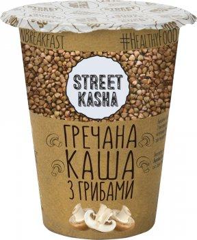 Упаковка каші Street Kasha Гречаної з грибами 50 г х 6 шт. (8768137287429)