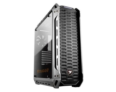 Корпус Cougar Panzer-S, Middle Tower, Mini ITX / Micro ATX / ATX / CEB, 208 x 565 x 520 мм