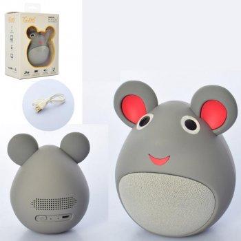 Портативна бездротова Bluetooth колонка у формі мишки iCutes MB-M919 NEW Сіра