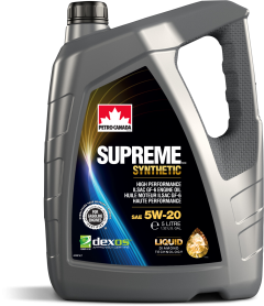 Моторне масло Petro-Canada Supreme Synthetic 5w-20 4л