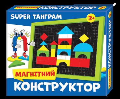 Магнитный конструктор Мій успіх+ Super Танграм (4823076000301)