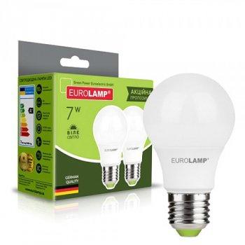 Довговічна світлодіодна енергоефективна лампа EKOPAK LED А50 7W E27 матова 4000K ЕКО (1000000570)