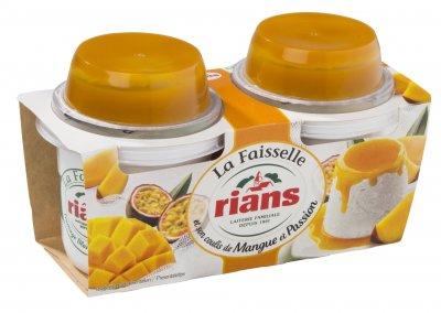 Десерт Rians сырный Фессель с манго и маракуйя 2х120 г