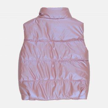 Демісезонний жилет Одягайко 72100 Рожевий