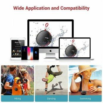 Бездротова водонепроникна портативна колонка Bluetooth 4.2 VTIN Q1