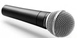 Вокальний радіомікрофон Shure SM-58 з двома мікрофонами і UHF радіосистемою, чорний (MD-11843)