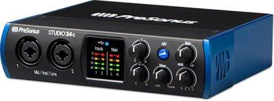 Аудіоінтерфейс PreSonus Studio 24c (228476)