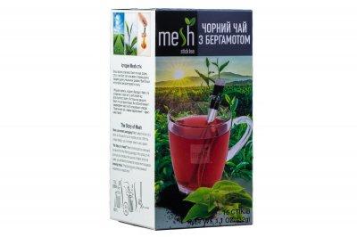 Чай чорний з бергамотом Mesh 16 стіків