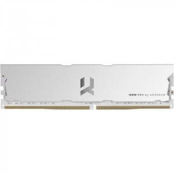 Модуль пам'яті для комп'ютера DDR4 16GB (2x8GB) 4000 MHz IRDM PRO White GOODRAM (IRP-W4000D4V64L18S/16GDC)