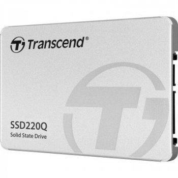 """Накопичувач SSD 2.5"""" 1TB Transcend (TS1TSSD220Q)"""