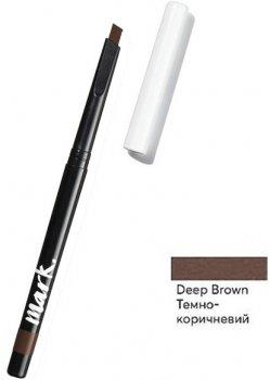 Карандаш для бровей Avon Deep Brown / Темно коричневый 0.28 г (1372591)(ROZ6400105980)