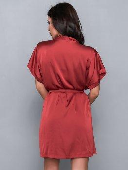 Халат BARWA garments 0242 Терракотовый