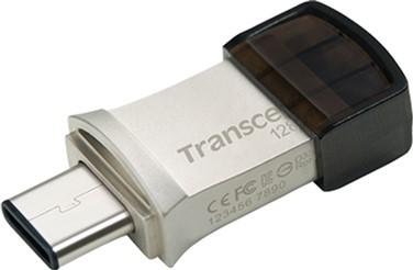 Transcend JetFlash 890 128GB USB 3.1 / Type-C Silver (TS128GJF890S)