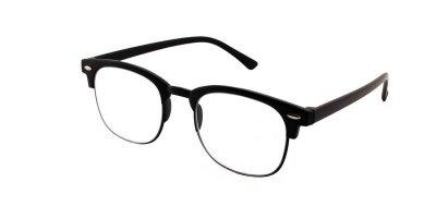 Очки для чтения унисекс пластиковая оправа Vesta TR90-8007(+0.75) черные