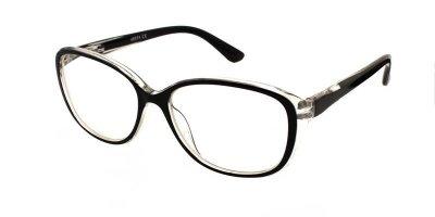 Очки для чтения женские в пластиковой оправе Vesta 19309C1 (+2.50) черные
