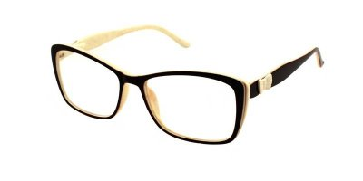Очки для чтения женские пластиковая оправа Vesta 18505С1 (-2.00)