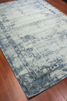 килим-гобелен сучасного стилю з котону і шеніла, машинна робота з Єгипту 75x165 (21126 Catania 0001-999)