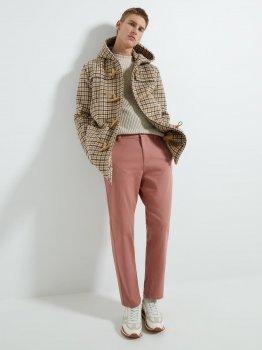 Брюки Zara 0706/544/620-ACXV Темно-розовые