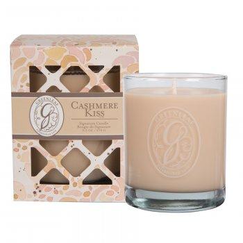 Свічка ароматизована в склянці Cashmere Kiss Greenleaf Поцілунок Кашеміру 270 г (19840903)