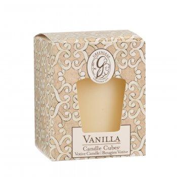 Свічка ароматизована Vanilla Greenleaf Ваніль 5х4 см (19840917)
