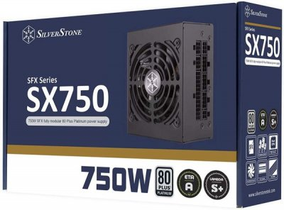 Блок живлення SilverStone SX750 SFX Platinum 750W SST-SX750-PT
