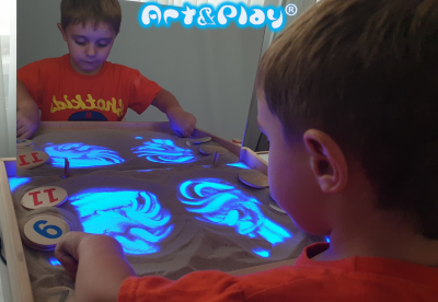 Логопедичне дзеркало Art&Play® безопасное цельное