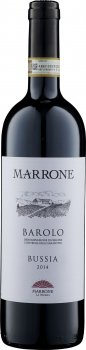 Вино Barolo Bussia DOCG Marrone красное сухое 0.75 л 14.5% (8029510100460)