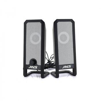 Колонки для комп'ютера і ноутбука JNS-12 потужна комп'ютерна акустика на 10 Вт живлення від мережі 220 В регулятор гучності (48056)