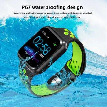 Смарт-годинник Smart Watch ZGPAX S226 Fitness Tracker Green (SWF10X54BG)