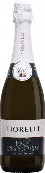 Игристое вино Fiorelli Pinot-Chardonnay Brut VS белое сухое 0.75 л 11% (8002915000184)
