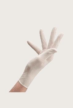 Перчатки Латексные Опудренные CARE365 Белые S (100 шт)