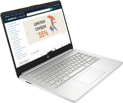 Ноутбук HP 14s-fq1009ua (437J9EA) Natural Silver