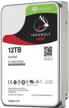 Жорсткий диск Seagate IronWolf HDD 12TB 7200rpm 256MB ST12000VN0008 3.5 SATAIII