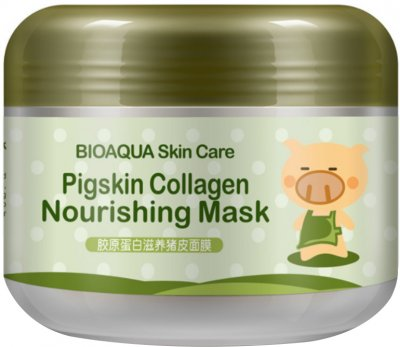 Маска коллагеновая Bioaqua Pigskin Collagen Nourishing Mask 100 мл (6947790780504)