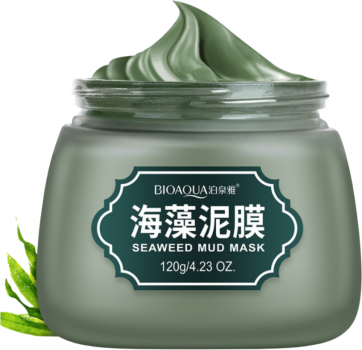 Матирующая маска для лица Bioaqua Seaweed Mud Mask 120 г (6947790788586)
