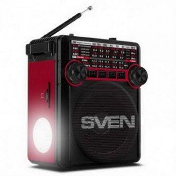Радіоприймач Sven SRP-355 Red UAH