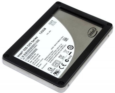 """SSD 120GB Intel 520 2.5"""" SATAIII MLC (SSDSC2CW120A3) Refurbished"""