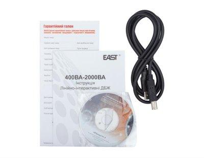 ИБП East EA-650U, Line Int., AVR, 3xIEC, USB (EA-650U IEC)