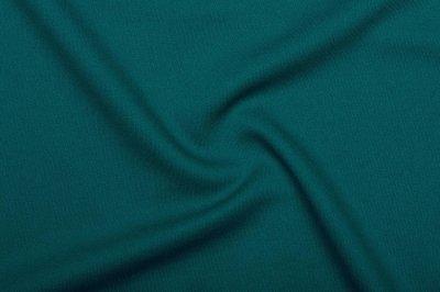 Ткань Трикотаж Джерси (подкладочный) морской волны пог. м. (7171)