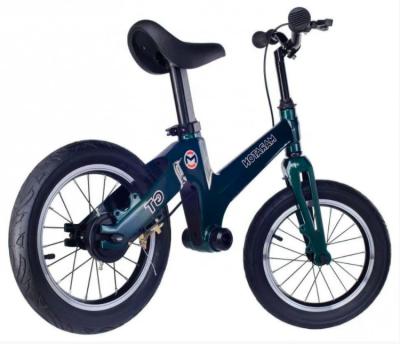 Беговел (велобіг від) дитячий Maraton GT з надувними колесами, Темно-зелений металік