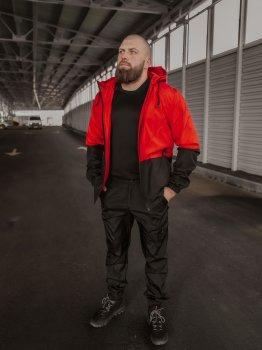 Спортивный костюм IBR Softshell light 1588782221 Красный с черным