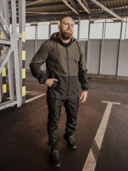 Спортивный костюм IBR Softshell light 1586807884 Черный/Хаки